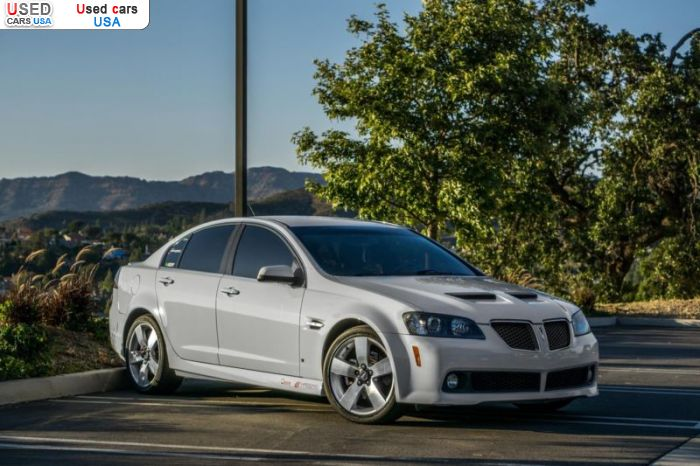 Car Market in USA - For Sale 2008  Pontiac G8