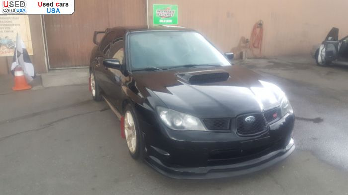 Car Market in USA - For Sale 2007  Subaru Impreza