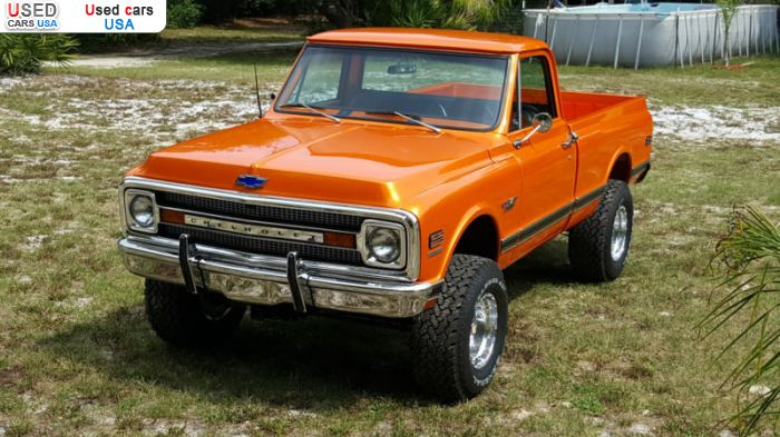 Car Market in USA - For Sale 1970  Chevrolet C 10