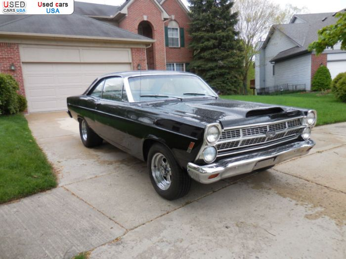 Car Market in USA - For Sale 1967  Ford Fairlane
