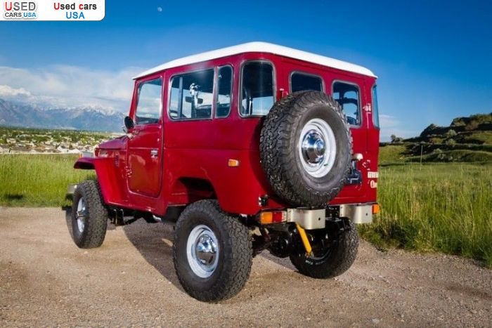 Car Market in USA - For Sale 1977  Toyota Land Cruiser
