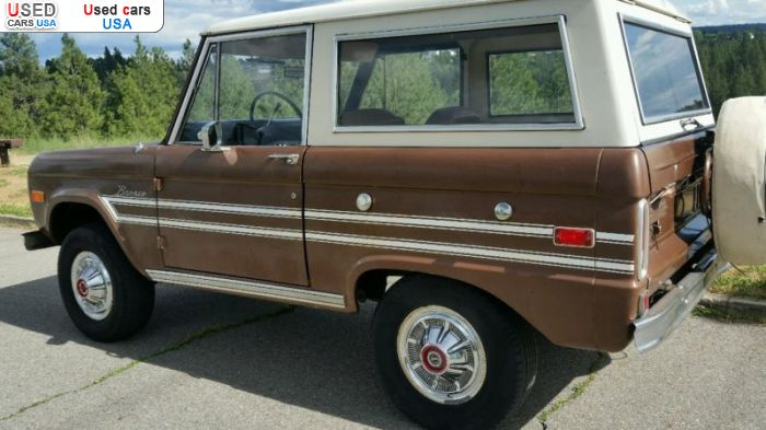 Car Market in USA - For Sale 1975  Ford Bronco