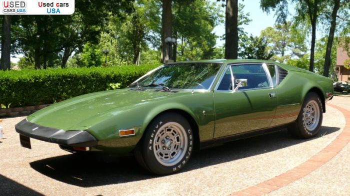Car Market in USA - For Sale 1974  De Tomaso Pantera