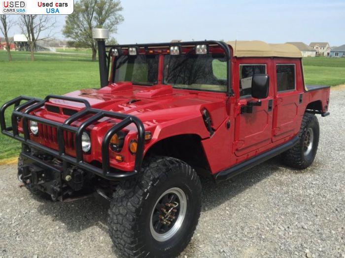 Car Market in USA - For Sale 2000  Hummer H1