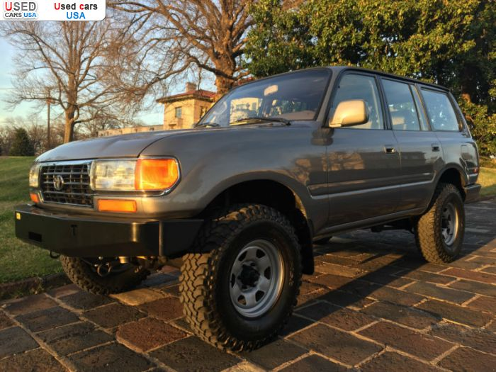 Car Market in USA - For Sale 1997  Toyota Land Cruiser
