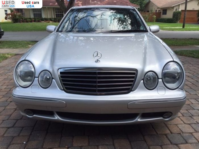 Car Market in USA - For Sale 2000  Mercedes E