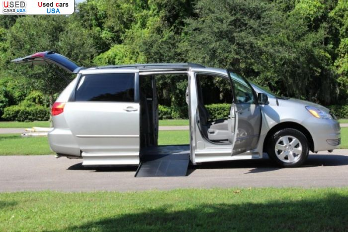Car Market in USA - For Sale 2004  Toyota Sienna