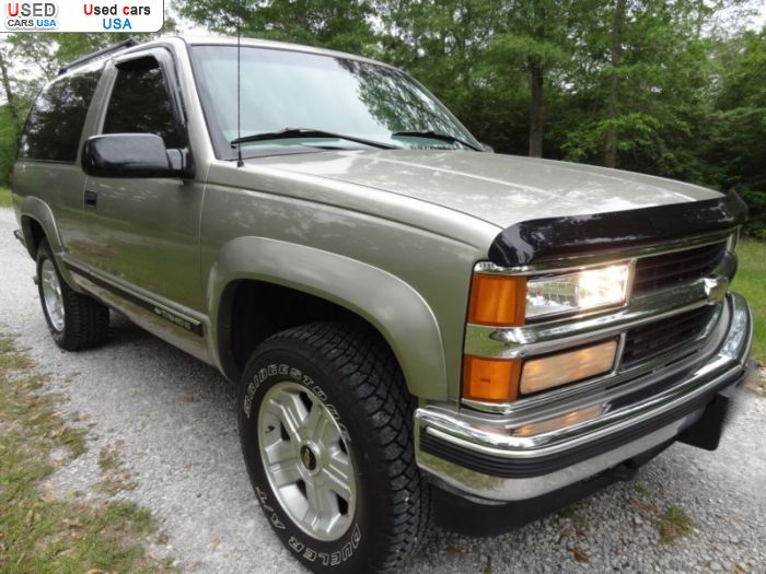 Car Market in USA - For Sale 1999  Chevrolet Tahoe
