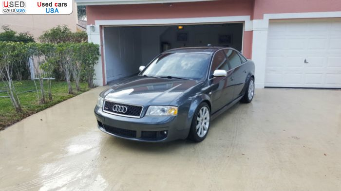 Car Market in USA - For Sale 2003  Audi RS6