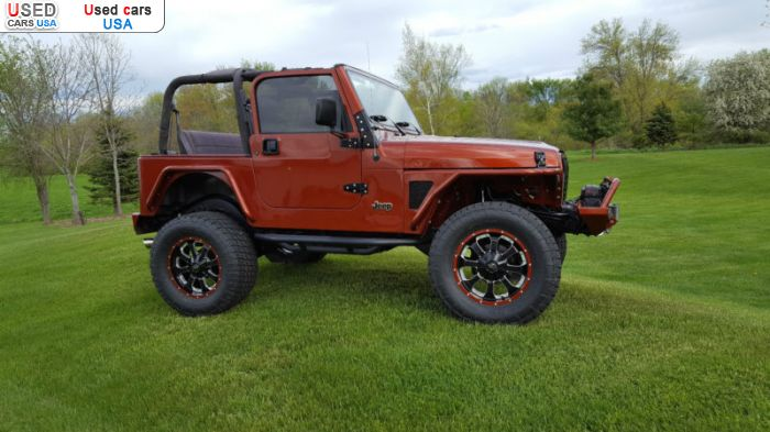 Car Market in USA - For Sale 2002  Jeep Wrangler