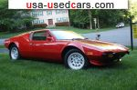 Car Market in USA - For Sale 1972  De Tomaso Pantera