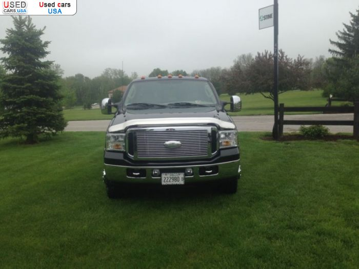 Car Market in USA - For Sale 2006  Ford F 350
