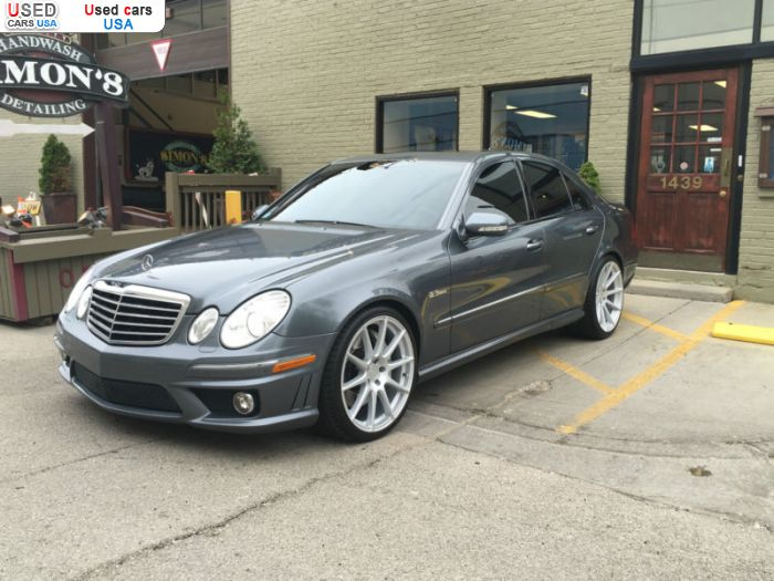 Car Market in USA - For Sale 2008  Mercedes E 63