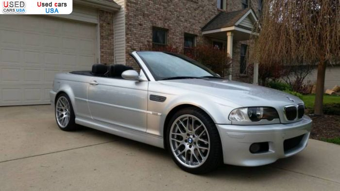 Car Market in USA - For Sale 2003  BMW M3