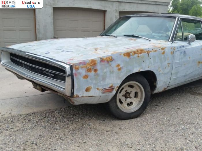 Car Market in USA - For Sale 1970  Dodge Charger