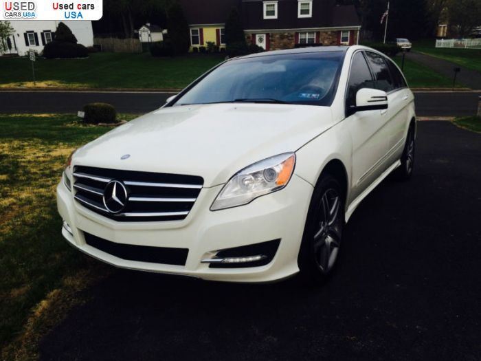 Car Market in USA - For Sale 2012  Mercedes R 350