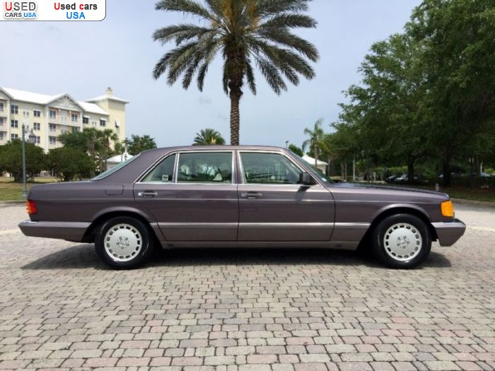 Car Market in USA - For Sale 1991  Mercedes 350SDL