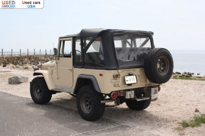 Car Market in USA - For Sale 1973  Toyota Land Cruiser