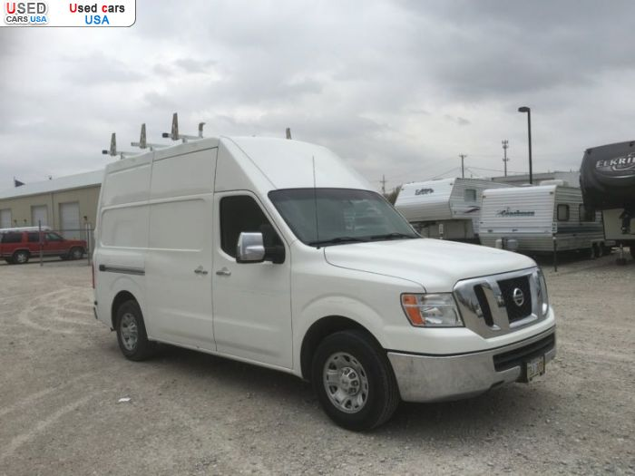 Car Market in USA - For Sale 2012  Nissan NV200