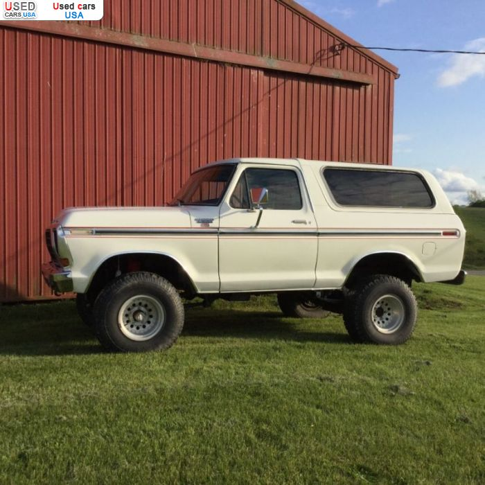 Car Market in USA - For Sale 1979  Ford Bronco