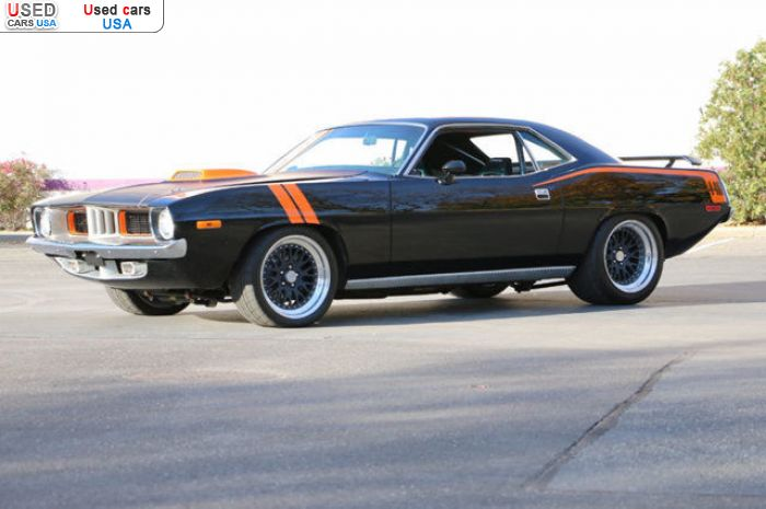 Car Market in USA - For Sale 1973  Plymouth Barracuda