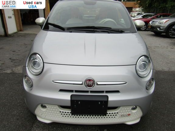 Car Market in USA - For Sale 2014   500E Battery Electric