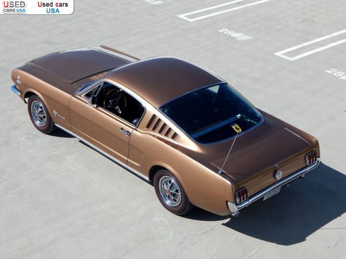 Car Market in USA - For Sale 1966  Ford Mustang