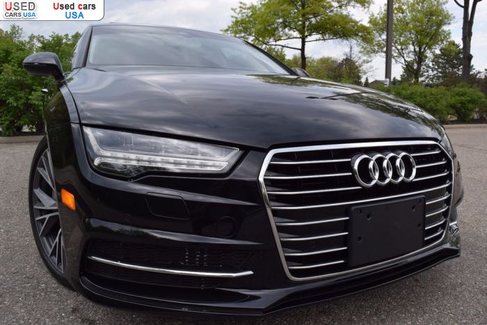 Car Market in USA - For Sale 2016  Audi A7