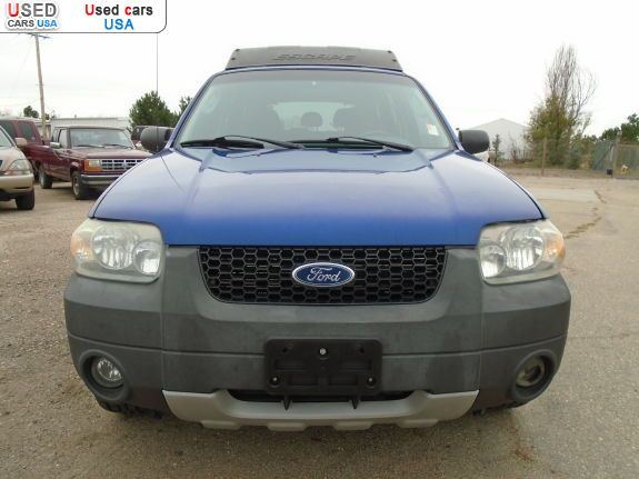 Car Market in USA - For Sale 2005  Ford Escape XLT Sport