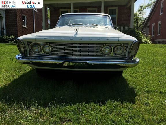 Car Market in USA - For Sale 1963  Plymouth Fury