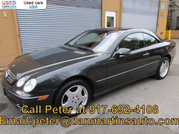 Car Market in USA - For Sale 2002  Mercedes CL 2002 Mercedes-Benz CL-Class CL500 - Coupe