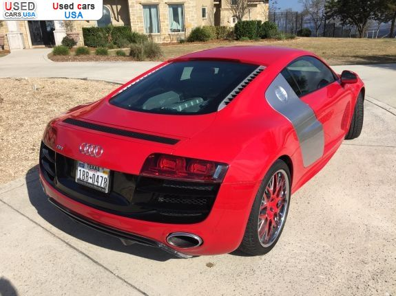 Car Market in USA - For Sale 2011  Audi R8 5.2 quattro - Coupe