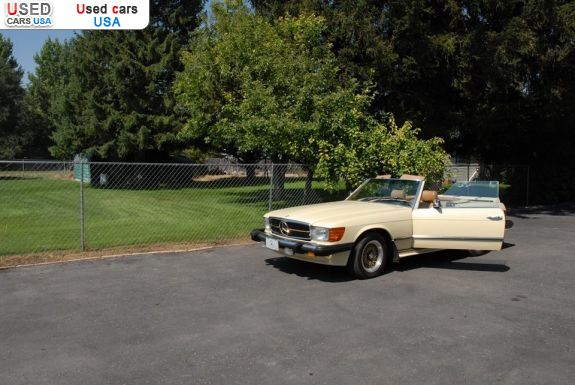 Car Market in USA - For Sale 1980  Mercedes 380 1980 Mercedes-Benz 380-Class