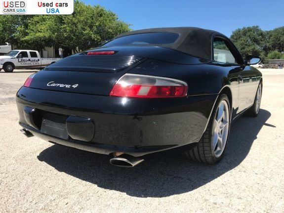 Car Market in USA - For Sale 2003  Porsche 911 Carrera 4 - Convertible