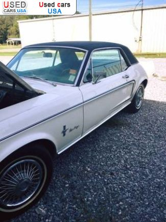 Car Market in USA - For Sale 1968  Ford Mustang