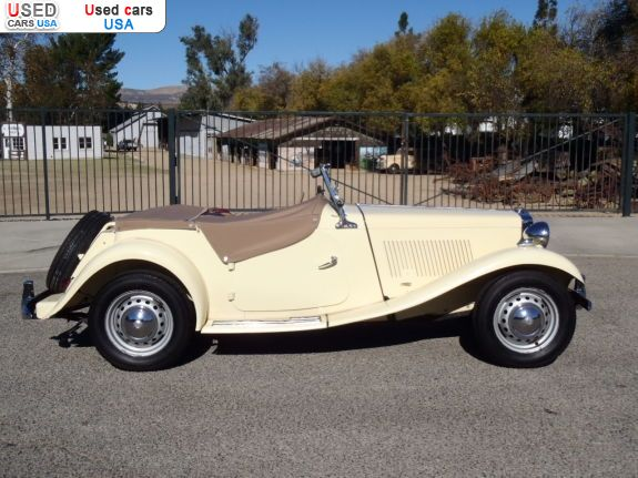Car Market in USA - For Sale 1950  MG TD
