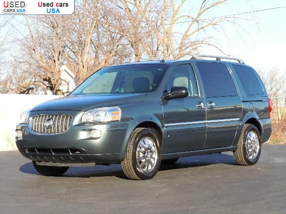 Car Market in USA - For Sale 2006  Buick Terraza CXL