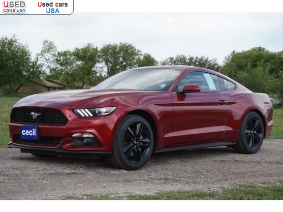Car Market in USA - For Sale 2016  Ford Mustang EcoBoost Premium