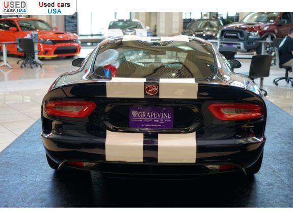 Car Market in USA - For Sale 2017  Dodge Viper GTS