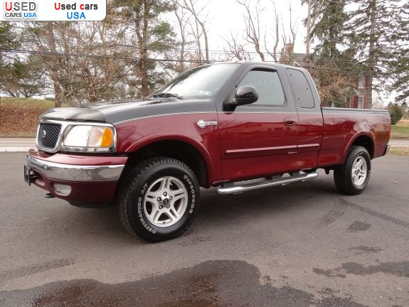 Car Market in USA - For Sale 2003  Ford F 150 XLT - Extended Cab Pickup