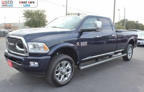 Car Market in USA - For Sale 2017  RAM 2500 Limited