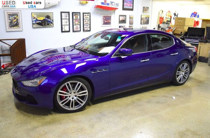 Car Market in USA - For Sale 2015  Maserati Ghibli