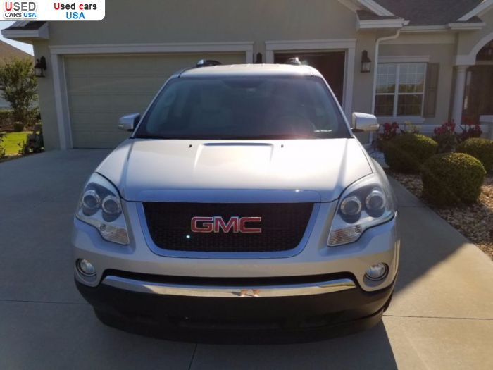 Car Market in USA - For Sale 2009  GMC Acadia