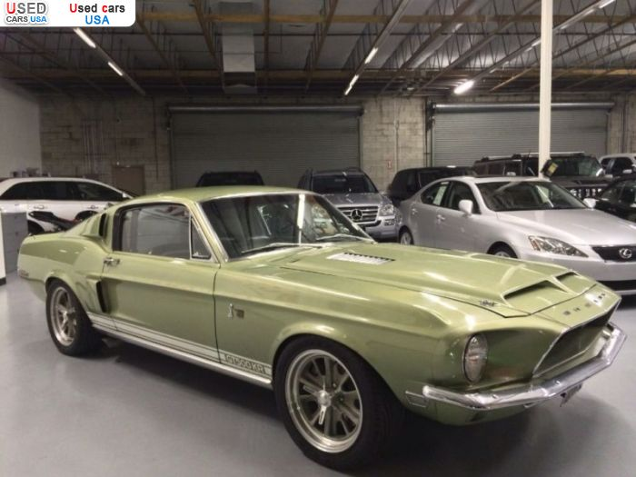 Car Market in USA - For Sale 1968  Shelby GT500