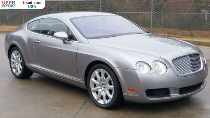 Car Market in USA - For Sale 2005  Bentley Continental