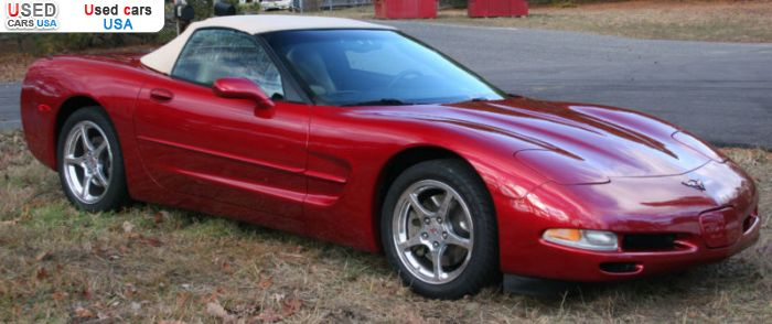 Car Market in USA - For Sale 2004  Chevrolet Corvette