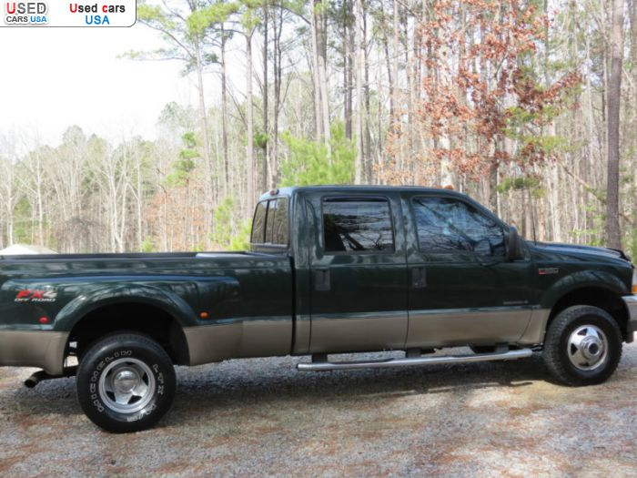 Car Market in USA - For Sale 2003  Ford F 350