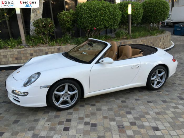 Car Market in USA - For Sale 2007  Porsche 911