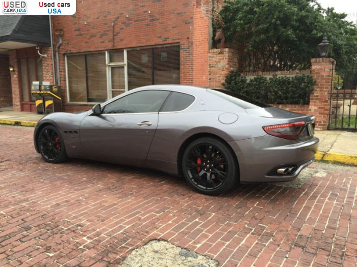 Car Market in USA - For Sale 2008  Maserati GranTurismo