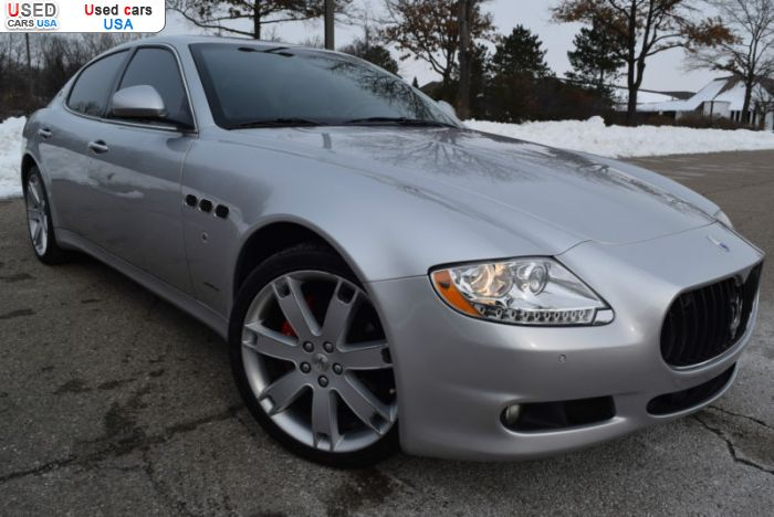 Car Market in USA - For Sale 2009  Maserati Quattroporte
